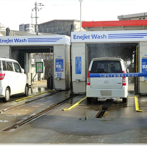 24時間稼働節水型洗車機